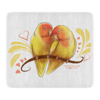 Peach Faced Lutino Lovebirds Boards