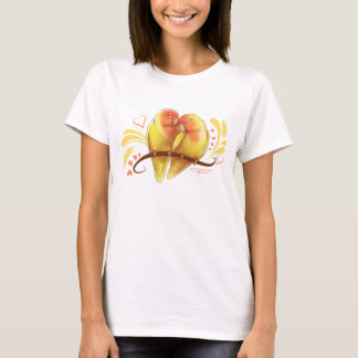 Peach Faced Lutino Lovebirds T-Shirt
