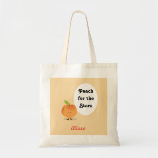 Peach for the Stars | Basic Tote