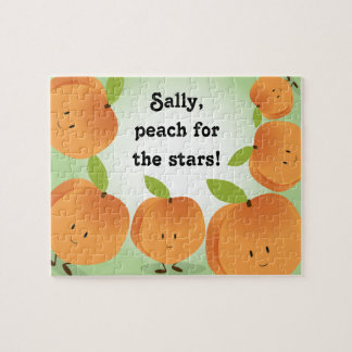 Peach for the Stars | Jigsaw Puzzle