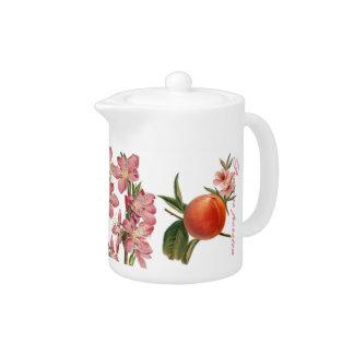 Peach Fruit & Blossom Creamer / Milk Jug
