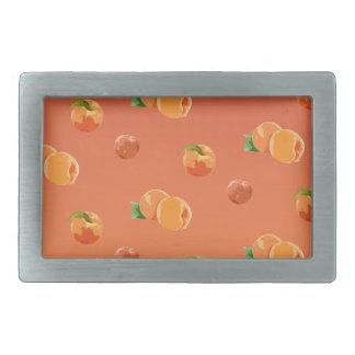 Peach Fruit Pattern Belt Buckle
