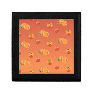 Peach Fruit Pattern Gift Box