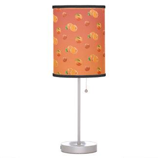 Peach Fruit Pattern Table Lamp