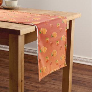 Peach Fruit Pattern Table Runner