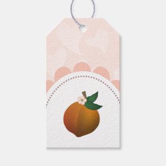 Peach Gift Tags