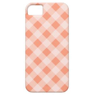 Peach Gingham iPhone 5 Case Mate