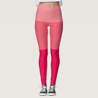 Peach Gradient Leggings