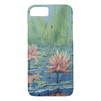 Peach Lilies iPhone 8/7, Barely There Phone Case