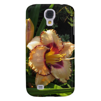 Peach Lily Samsung Galaxy Cell Phone Case