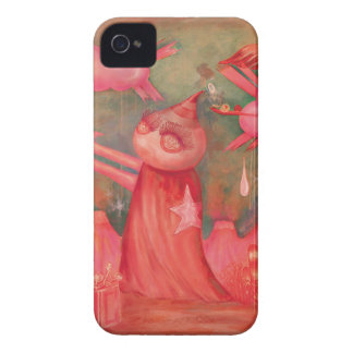 peach man Case-Mate iPhone 4 cases