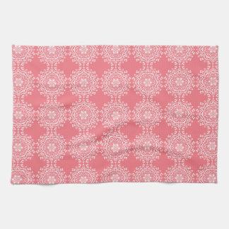 Peach Mandala Kitchen Towel