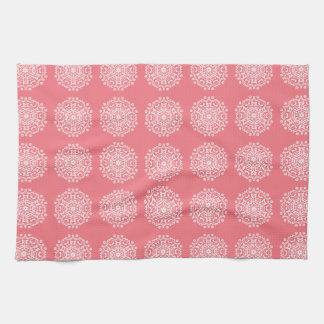 Peach Mandala Towel