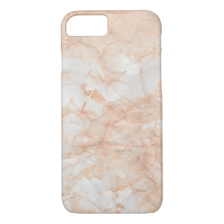 Peach Marble Mate Barely There iPhone 7 Case