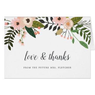Peach Meadow Thank You Card