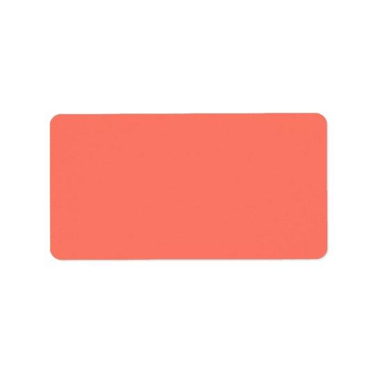 Peach Nectarine Fashion Colour Trend 2014