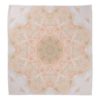 Peach Orange Mandala Kerchief