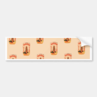 Peach Pagoda Bumper Sticker