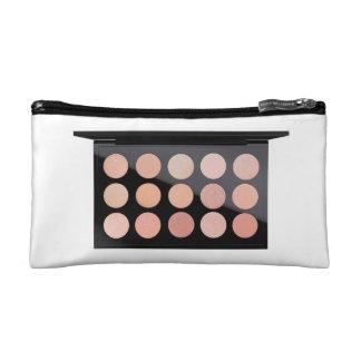 Peach palette - cosmetics bag