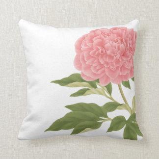 Peach Peony American MoJo Pillow
