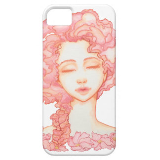 Peach Petal Bloom iPhone5S case