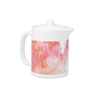 Peach Pink Cloudy Marble Stone