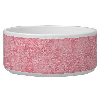 Peach Pink Floral twists