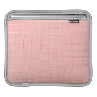 Peach Pink Line Pattern iPad sleeve Design