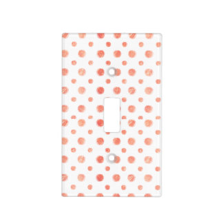 Peach_pots Light Switch Cover