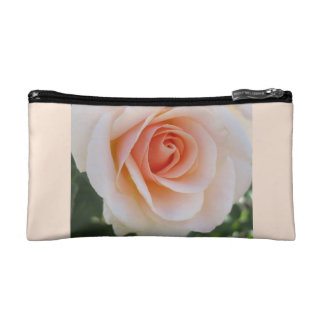 Peach Rose Makeup Bag