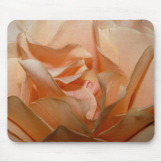 Peach Rose Petals mousepad