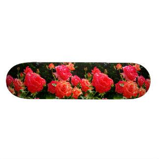 Peach Rose Skate Deck