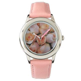 Peach Roses Watch