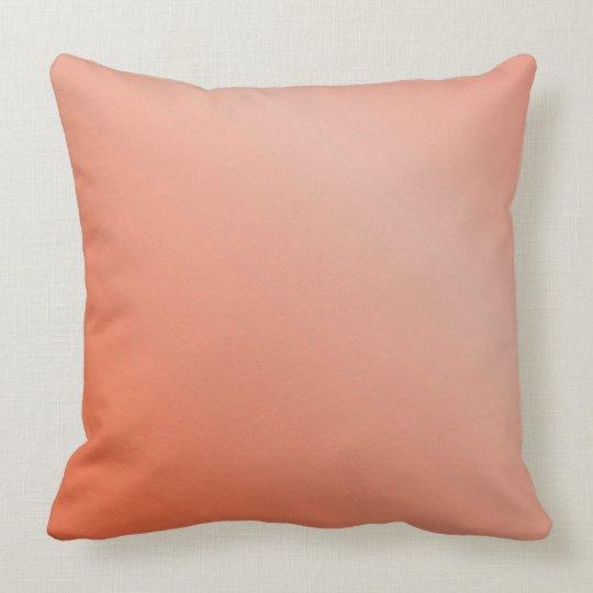 Peach Shaded Pillow