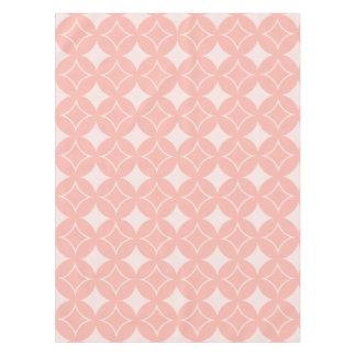 Peach shippo tablecloth