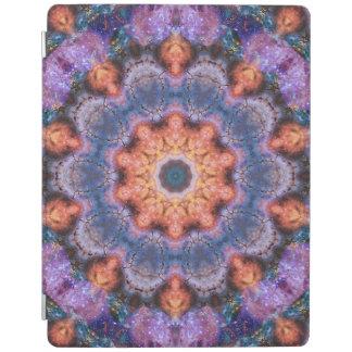 Peach Star Mandala iPad Cover