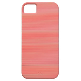 Peach Streaks Case For The iPhone 5