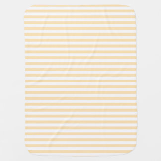 Peach Stripes Baby Blanket