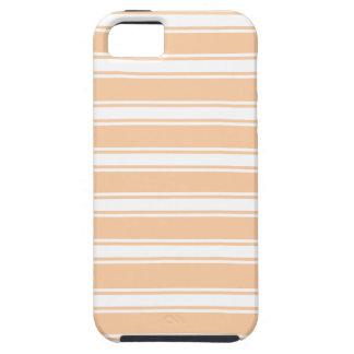 Peach Stripes iPhone 5 Cover