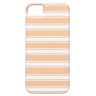 Peach Stripes iPhone 5 Covers