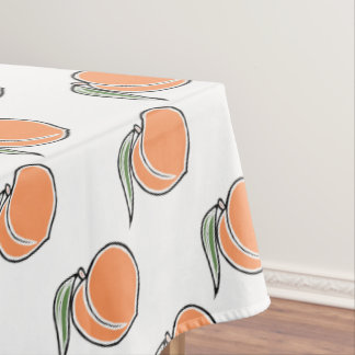 Peach Tablecloth