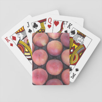 Peach Themed Playing Cards, Standard Index faces Playing Cards