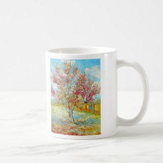 Peach Tree in Bloom at Arles, Van Gogh Coffee Mugs