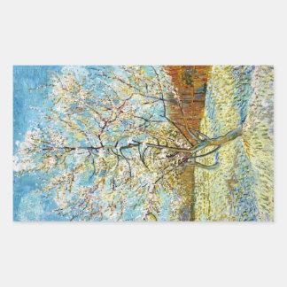 Peach Trees in Blossom Vincent Van Gogh Sticker