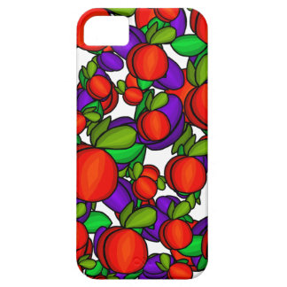 Peaches and plums iPhone 5 cover