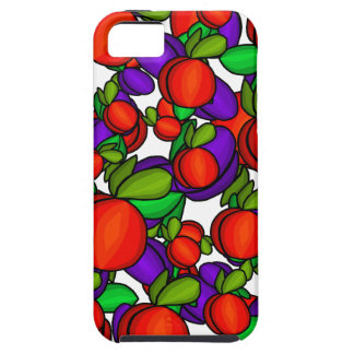 Peaches and plums iPhone 5 covers