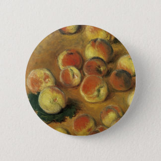 Peaches by Claude Monet 2 Inch Round Button
