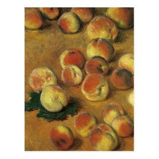 Peaches by Claude Monet Postcard