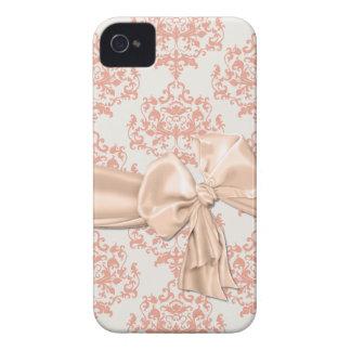 Peaches & Cream Damask iPhone 4 Casemate iPhone 4 Cover
