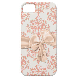 Peaches & Cream Damask iPhone 5 Casemate Case For The iPhone 5